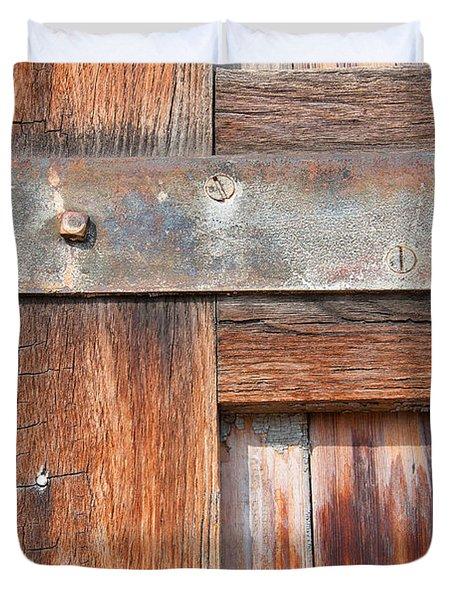Hinge Door  Duvet Cover
