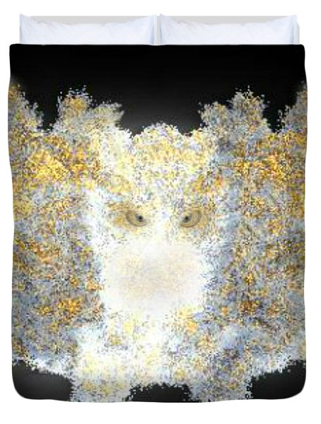 Hint Of Owl Duvet Cover