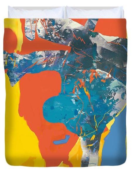 Hip Hop Street Dancing  Pop Art Poster  -  5 Duvet Cover