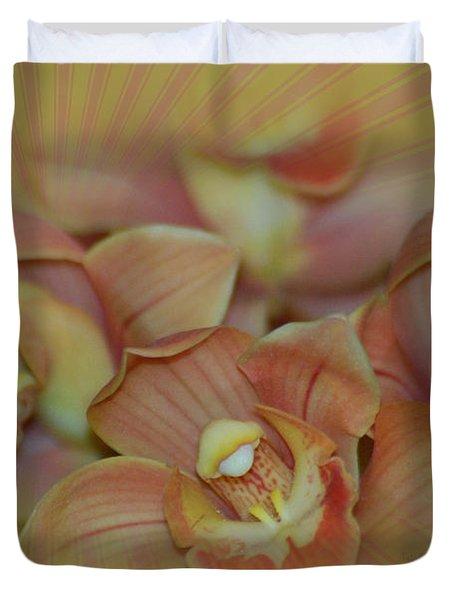 Hippy Orchid Duvet Cover