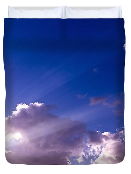 His Glory Duvet Cover