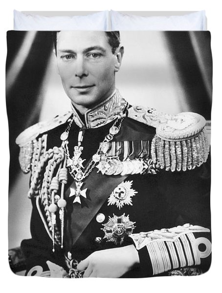 His Majesty King George Vi Duvet Cover