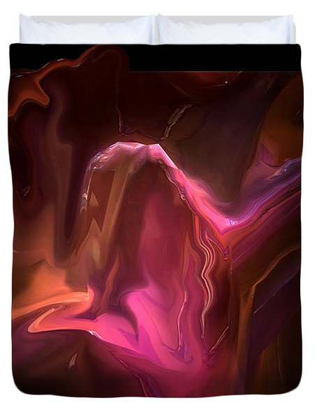 Duvet Cover featuring the digital art His Only by Steven Lebron Langston
