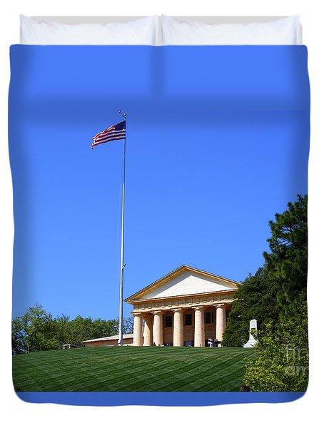 Historic Arlington House Duvet Cover by Patti Whitten