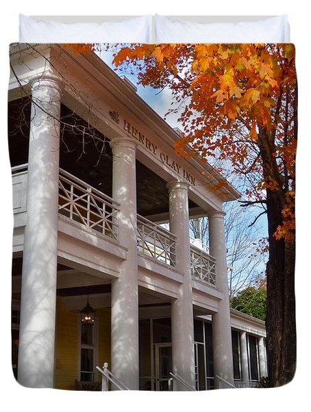Historic Inn In Ashland Va Duvet Cover