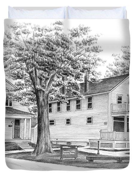 Historic Jaite Mill - Cuyahoga Valley National Park Duvet Cover