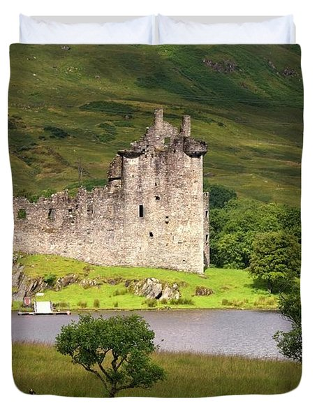 Historic Landmark, Scotland Duvet Cover