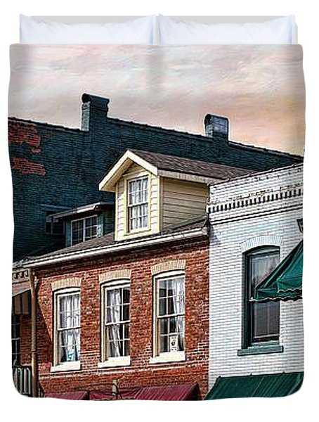 Historic Weston Duvet Cover