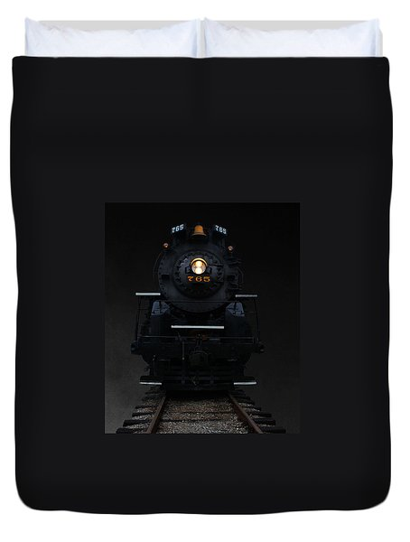 Historical 765 Steam Engine Duvet Cover