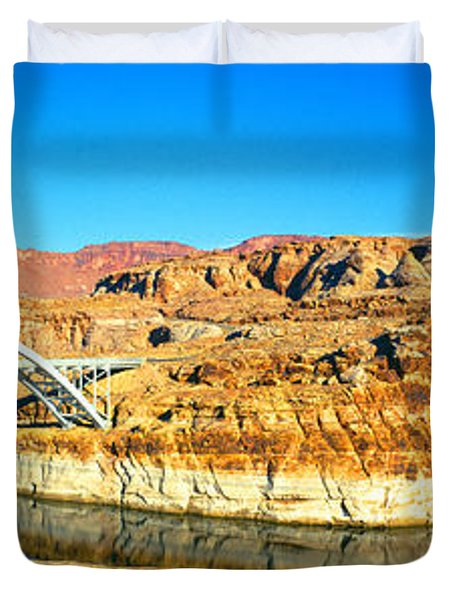 Hite Overlook And Cataract Canyon Duvet Cover
