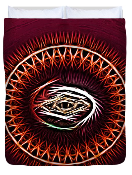 Hj-eye Duvet Cover