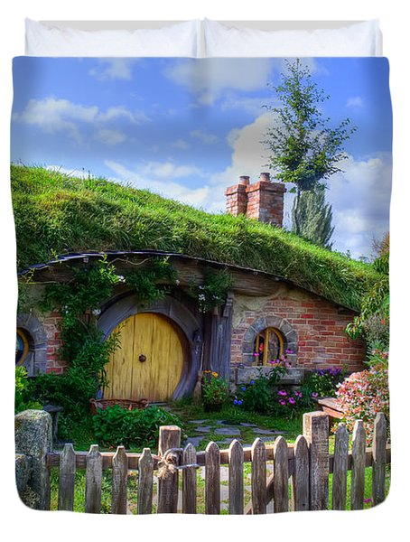 Hobbit Hole 7a Duvet Cover