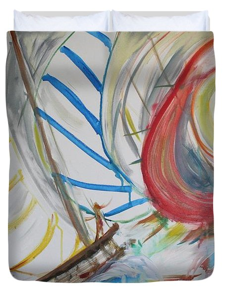 Hobie Cats Duvet Cover