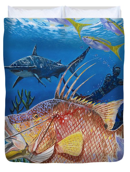 Hog Fish Spear Duvet Cover