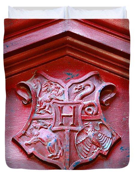 Hogwarts Crest Duvet Cover