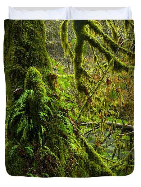 Hoh Rainforest 2 Duvet Cover