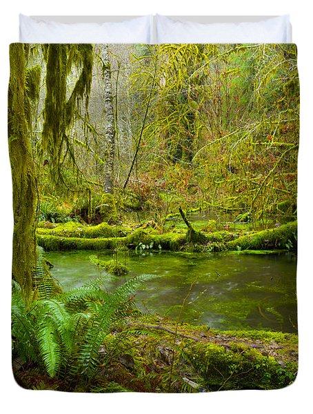 Hoh Rainforest 3 Duvet Cover