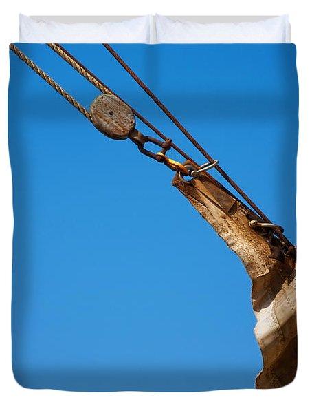Hoist The Sails. Duvet Cover