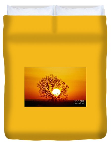 Holding The Sun Duvet Cover