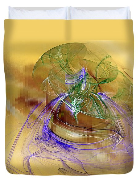 Holiday In Cambodia Duvet Cover by Jeff Iverson