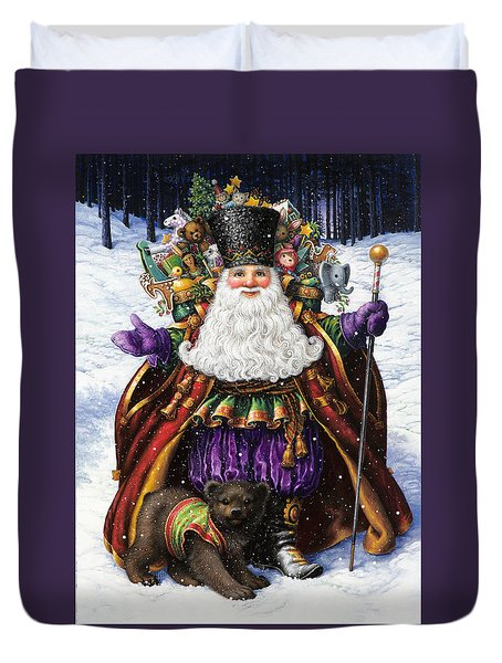 Holiday Riches Duvet Cover