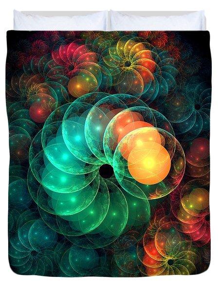 Holiday Spirit Duvet Cover by Anastasiya Malakhova