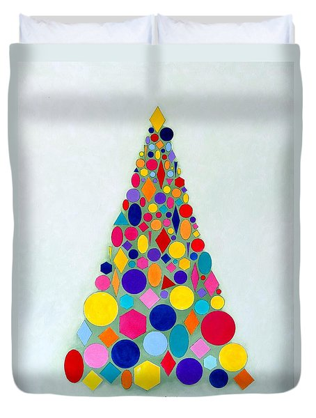 Holiday Tree #1 Duvet Cover