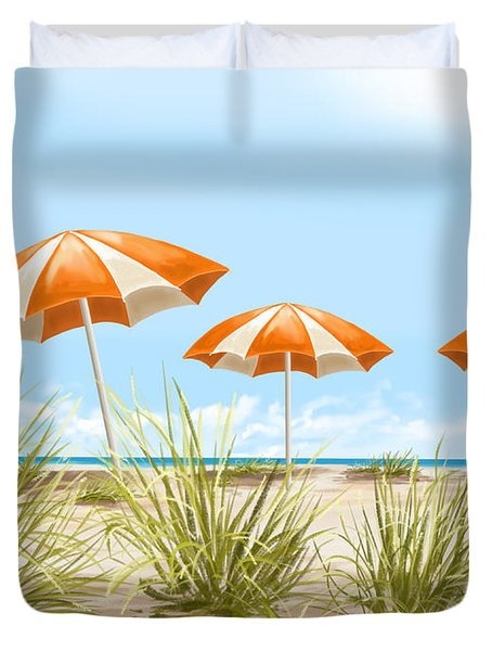 Holiday Duvet Cover by Veronica Minozzi