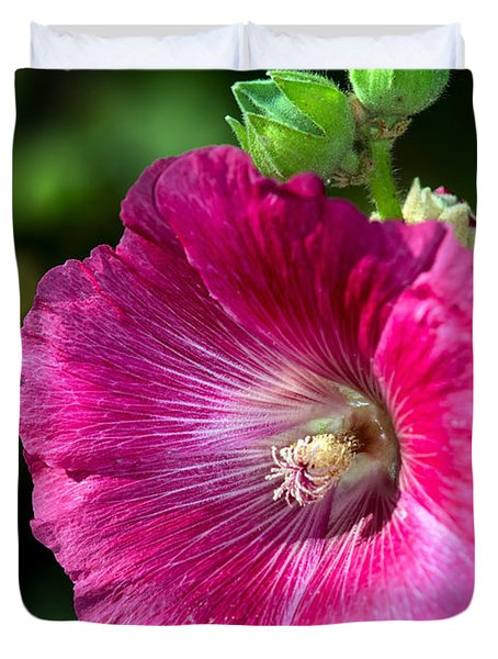 Hollyhock Duvet Cover