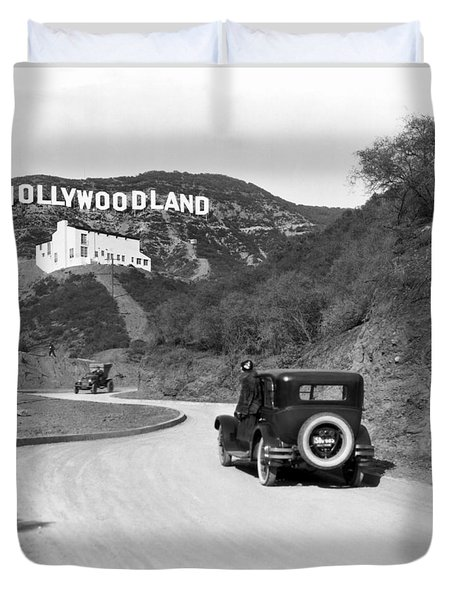 Hollywoodland Duvet Cover