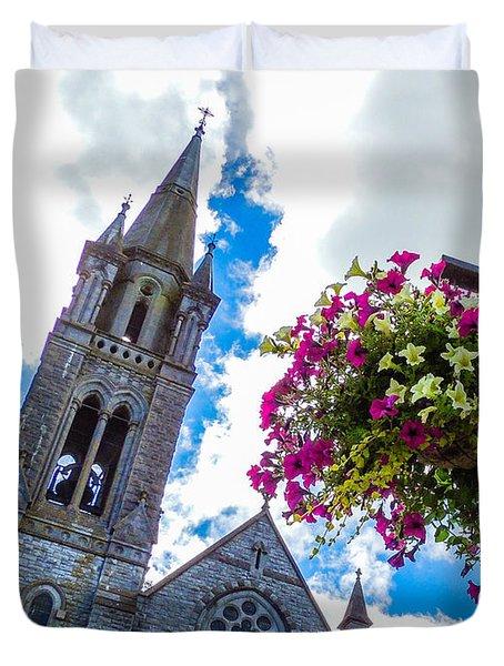 Holy Cross Church Steeple Charleville Ireland Duvet Cover
