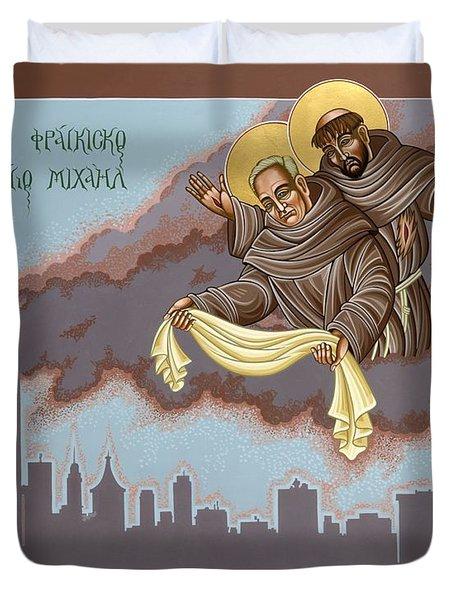 Holy Passion Bearer Mychal Judge 132 Duvet Cover