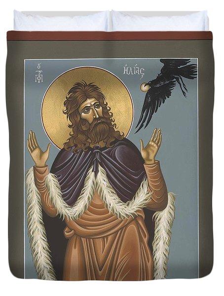 Holy Prophet Elijah 009 Duvet Cover by William Hart McNichols