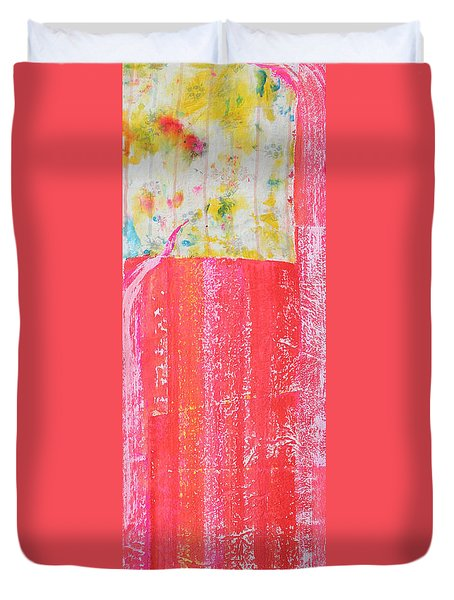 Homage To Old Paint Rags Duvet Cover by Asha Carolyn Young