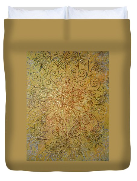 Home And Prosperity Duvet Cover