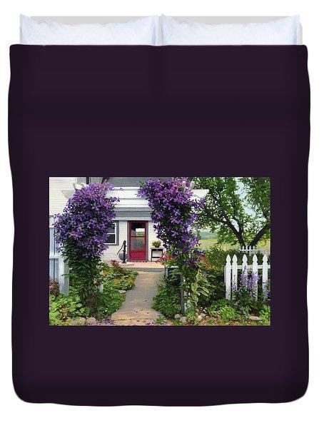Home Duvet Cover by Bruce Morrison