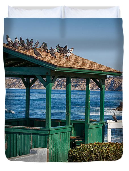Home By The Sea Duvet Cover