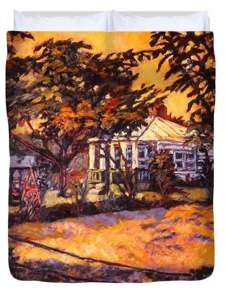 Home In Christiansburg Duvet Cover by Kendall Kessler