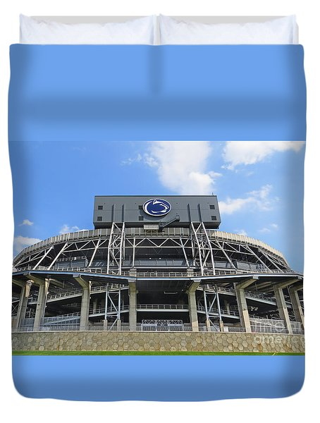 Home Of The Lions Duvet Cover