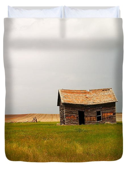 Home On The Range  Duvet Cover by Jeff Swan