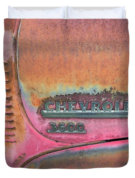 Homestead Chev Duvet Cover by Jerry McElroy
