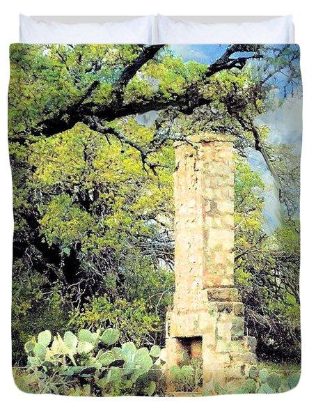 Forgotten Homestead  Duvet Cover by Janette Boyd