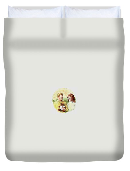 Honey Bear Duvet Cover