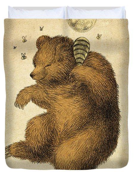 Honey Bear Duvet Cover