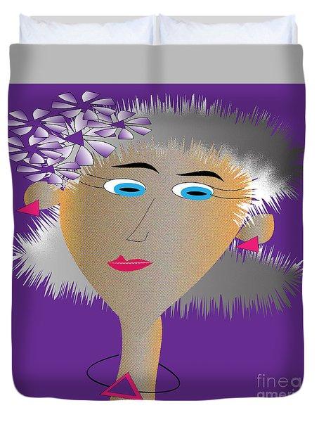 Honey Duvet Cover by Iris Gelbart