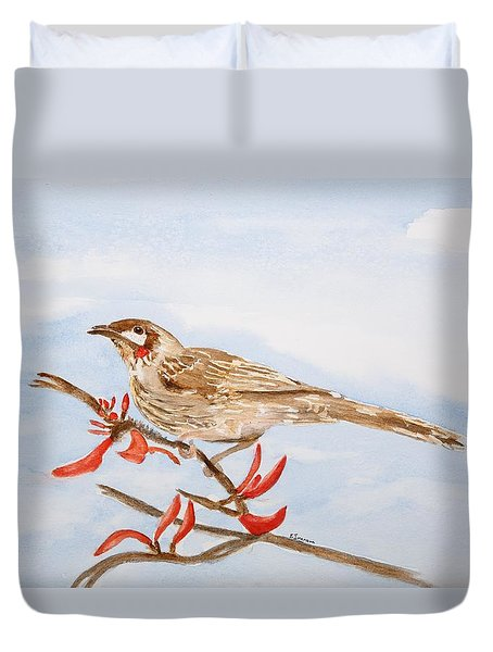 Honeyeater  Duvet Cover