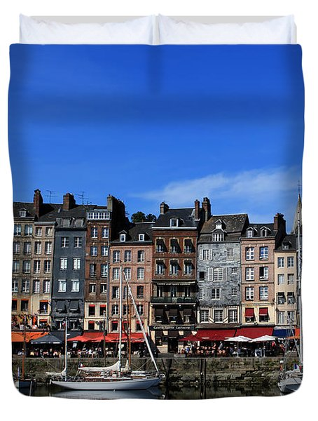 Honfleur France Duvet Cover