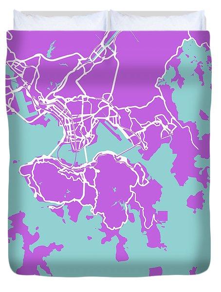 Hong Kong Duvet Cover