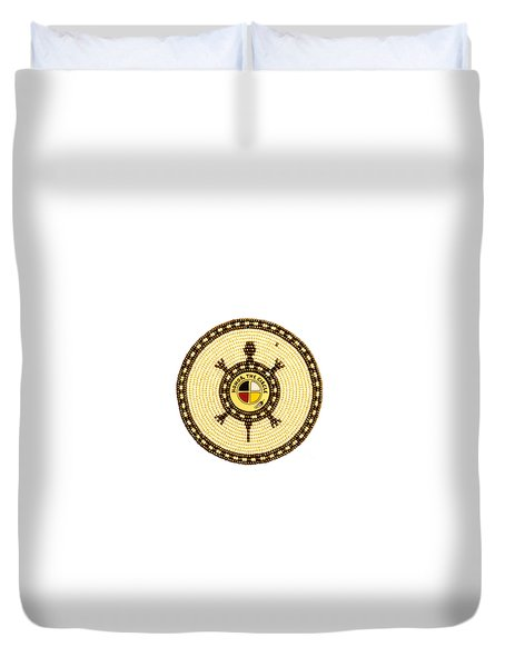 Honor The Circle Duvet Cover