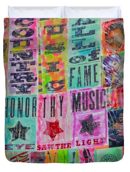 Honor Thy Music Blanket Duvet Cover